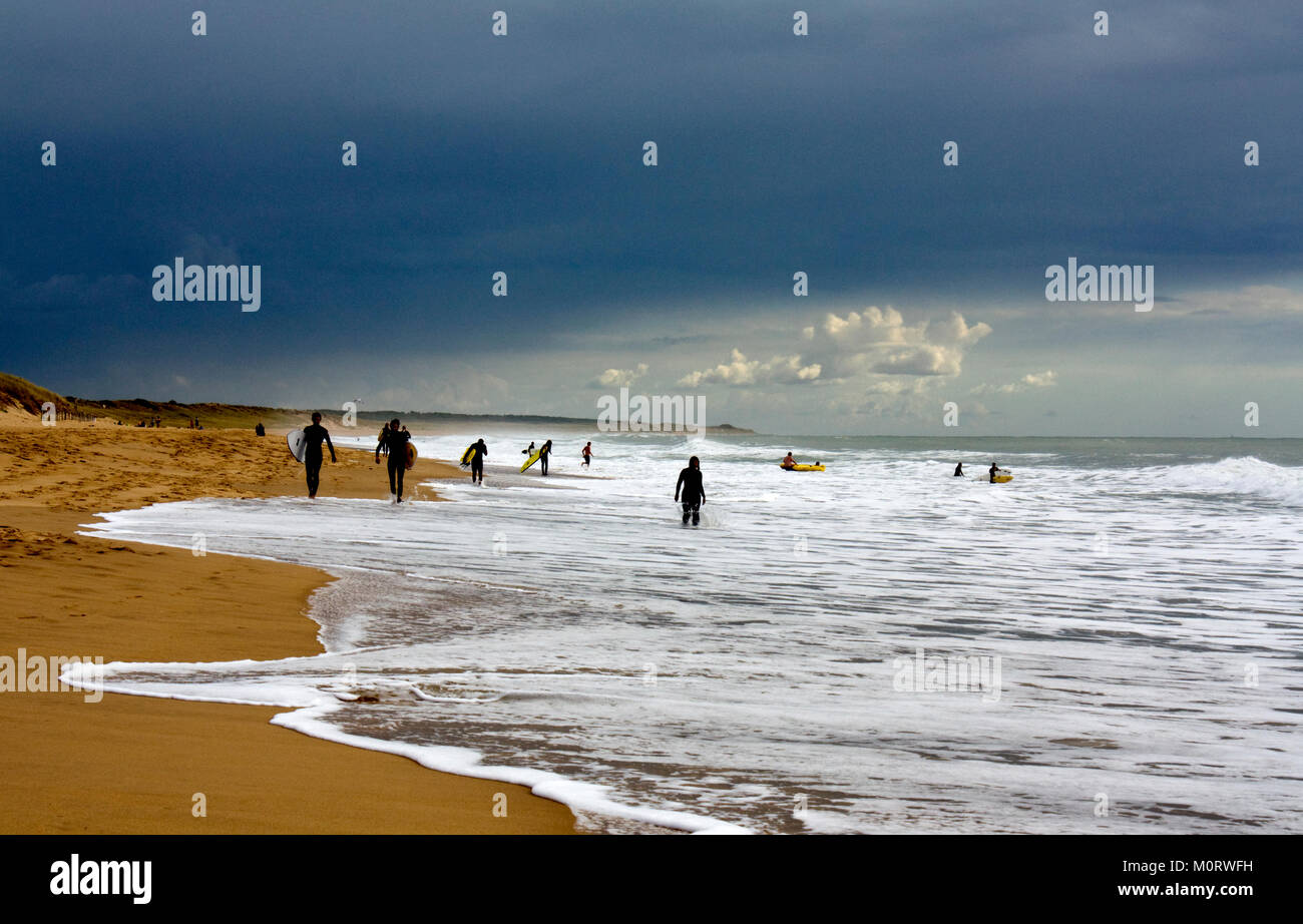 Surfer orage