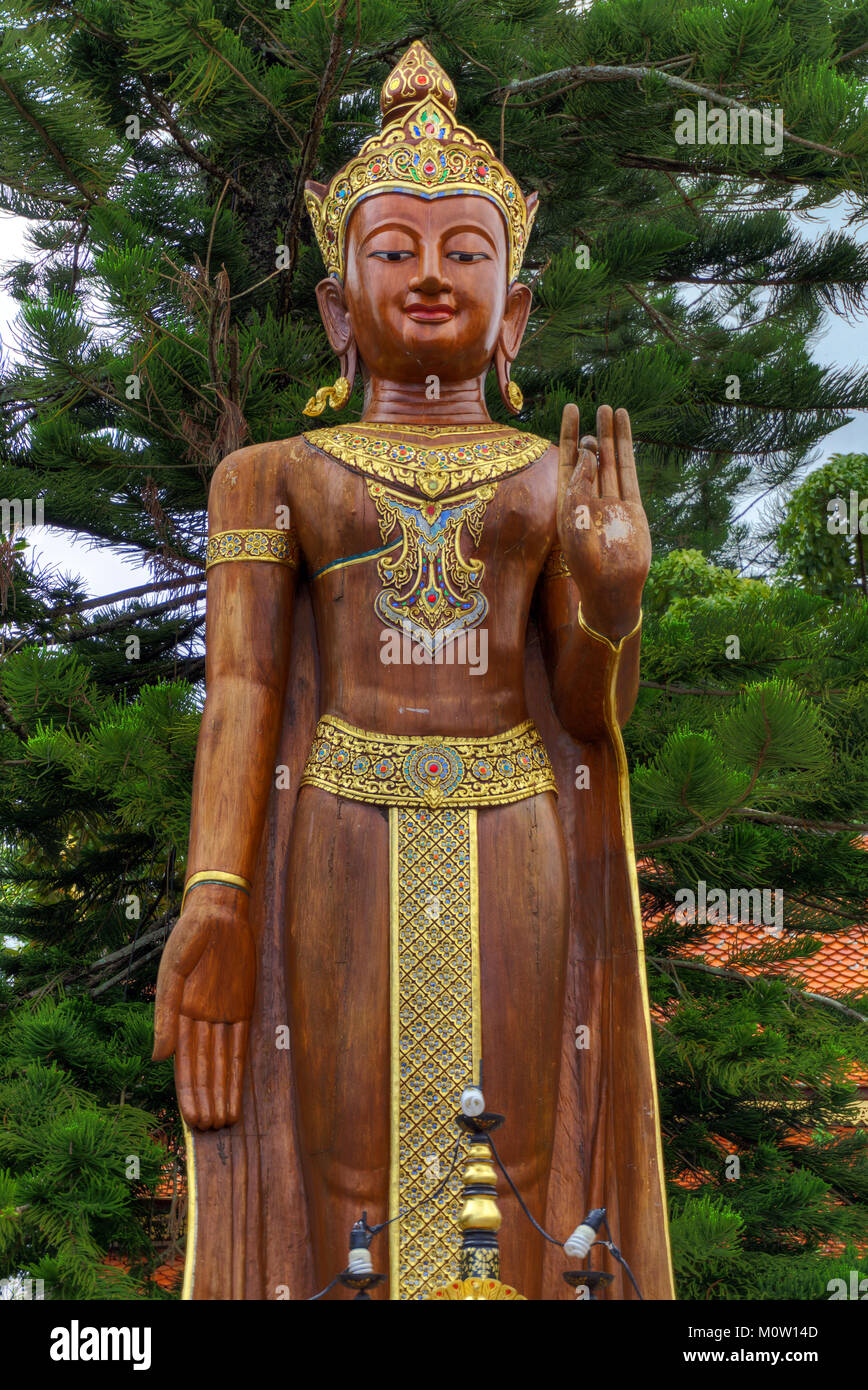 L'Asie, Thaïlande, Bangkok, Wat Phra That Doi Suthep temple Photo Stock