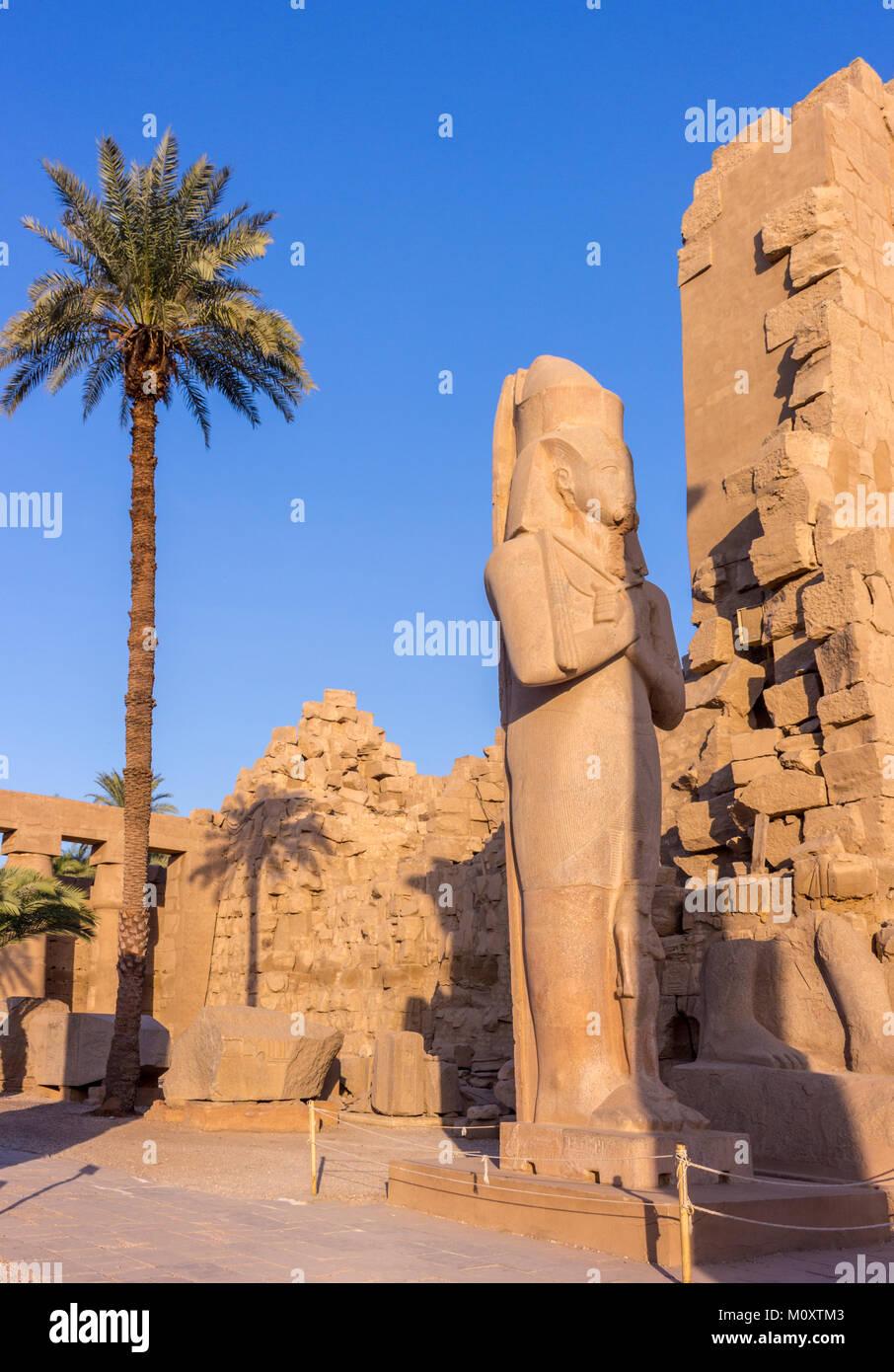 Louxor et Karnak Photo Stock