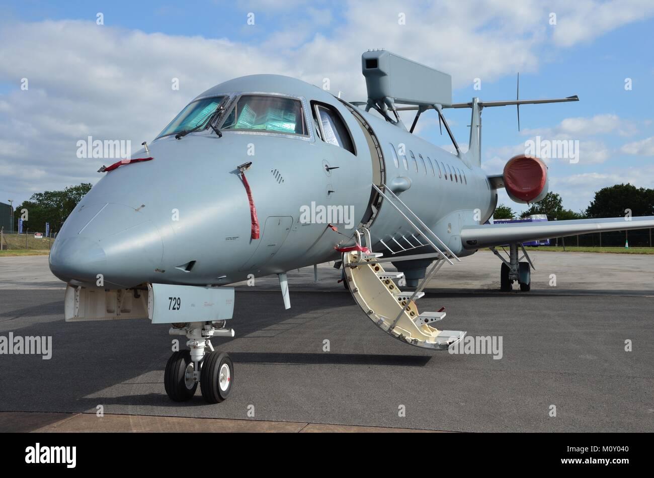 L'Armée de l'Air hellénique Embraer R-99A/E99 AEW&C Photo Stock