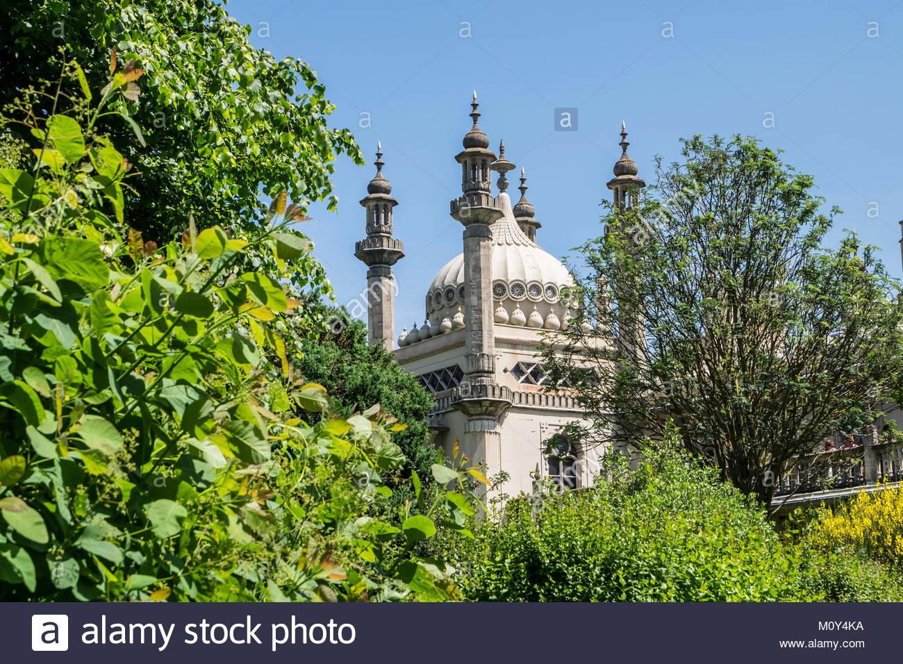 Photos de Brighton, Royaume-Uni, avec l'embarcadère, les jardins, les plages et les rues du centre-ville Photo Stock