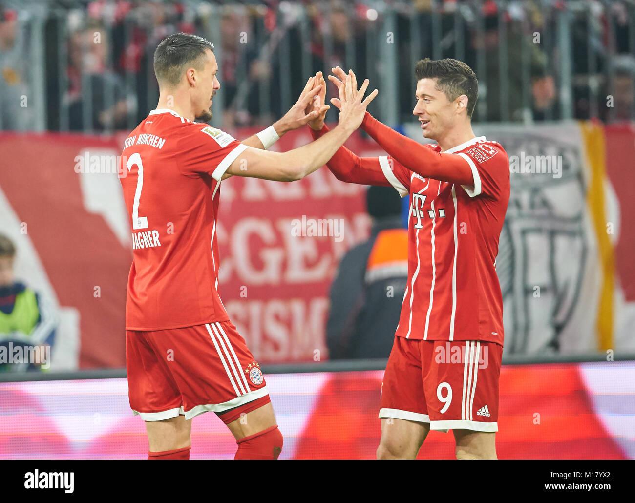 Maillot Domicile FC Bayern München Sandro Wagner