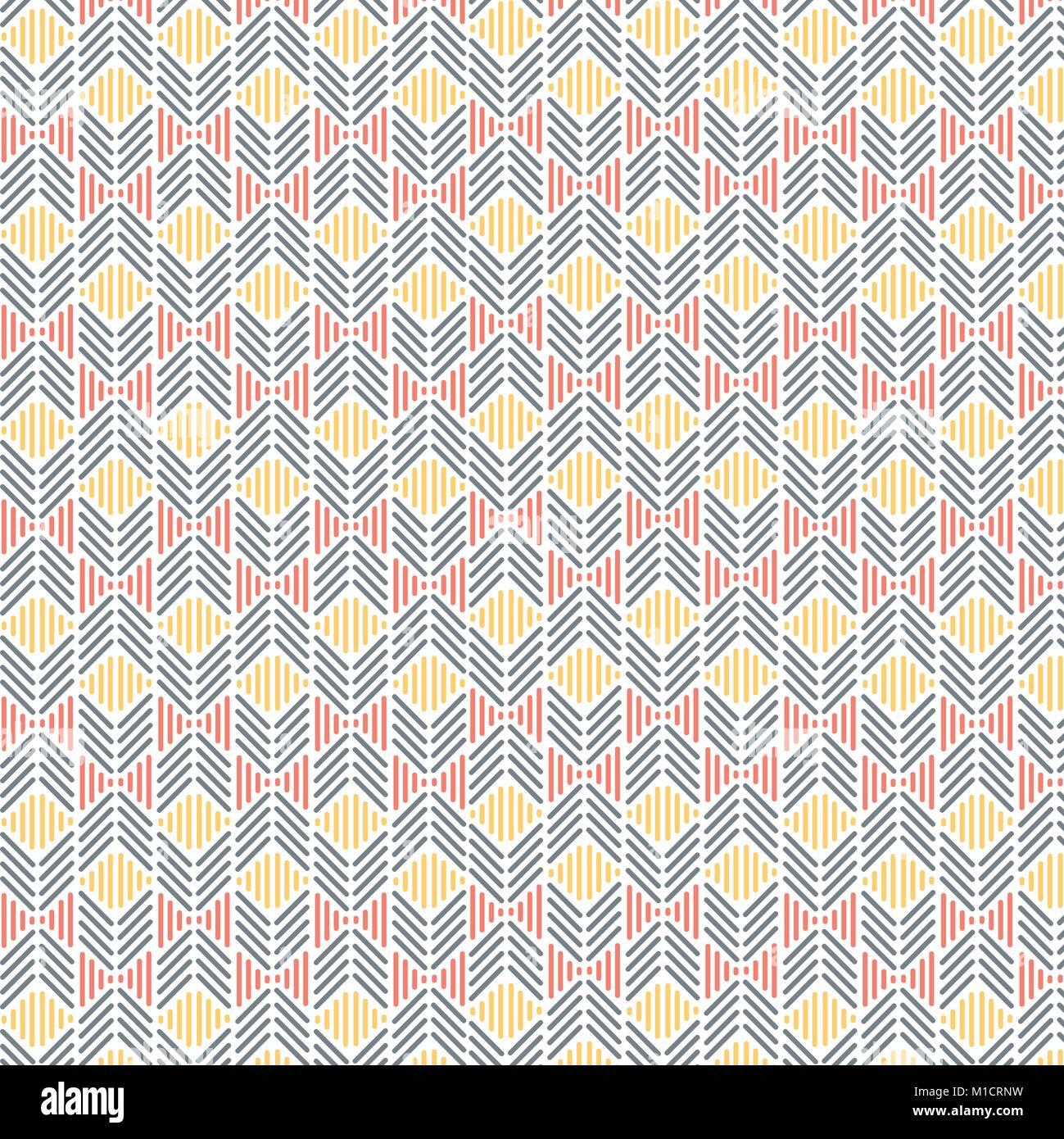Lignes abstraites texture seamless vector pattern géométrique Illustration de Vecteur