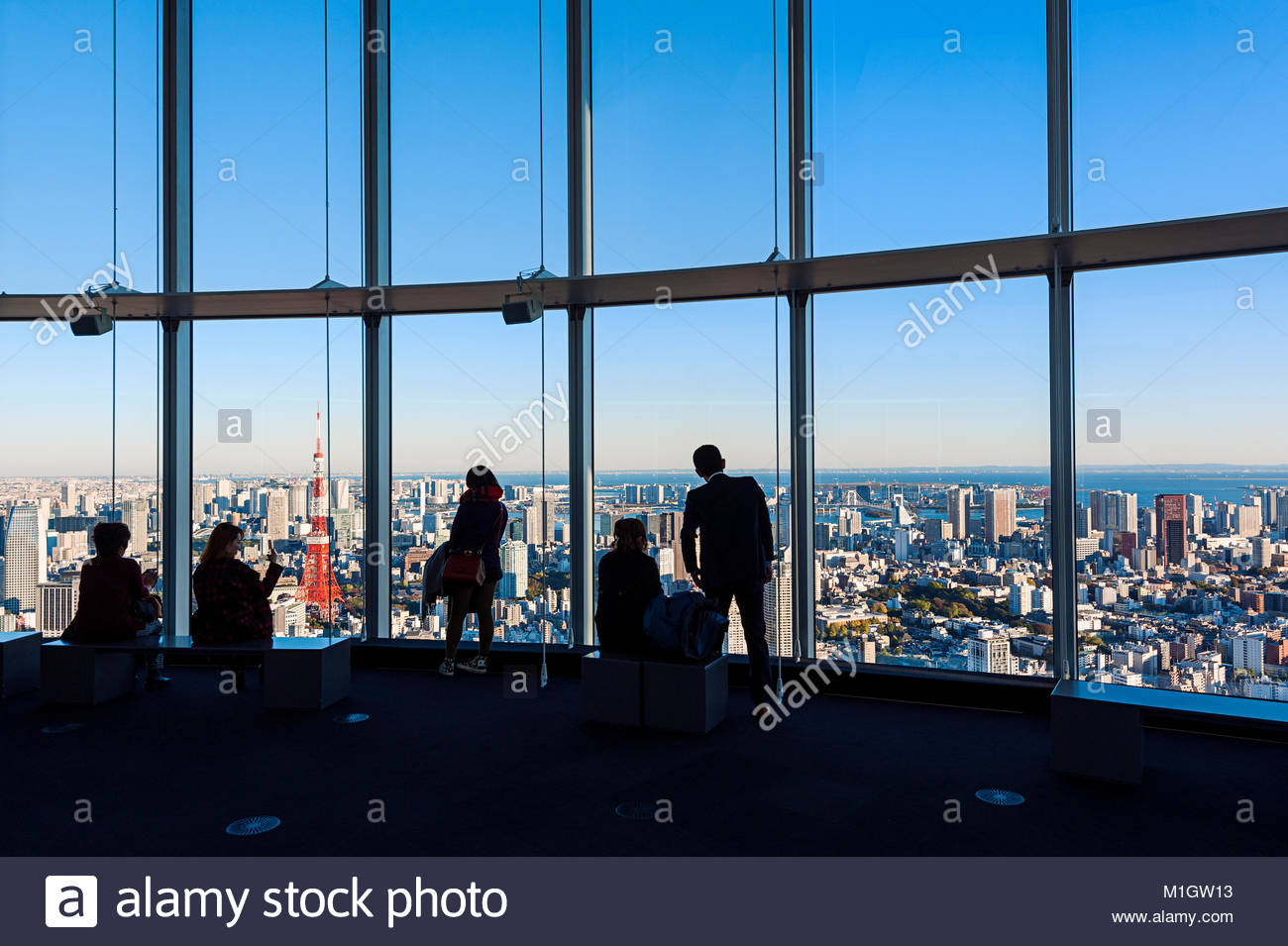 Roppongi Hills Mori Tower Tokyo City View Photo Stock