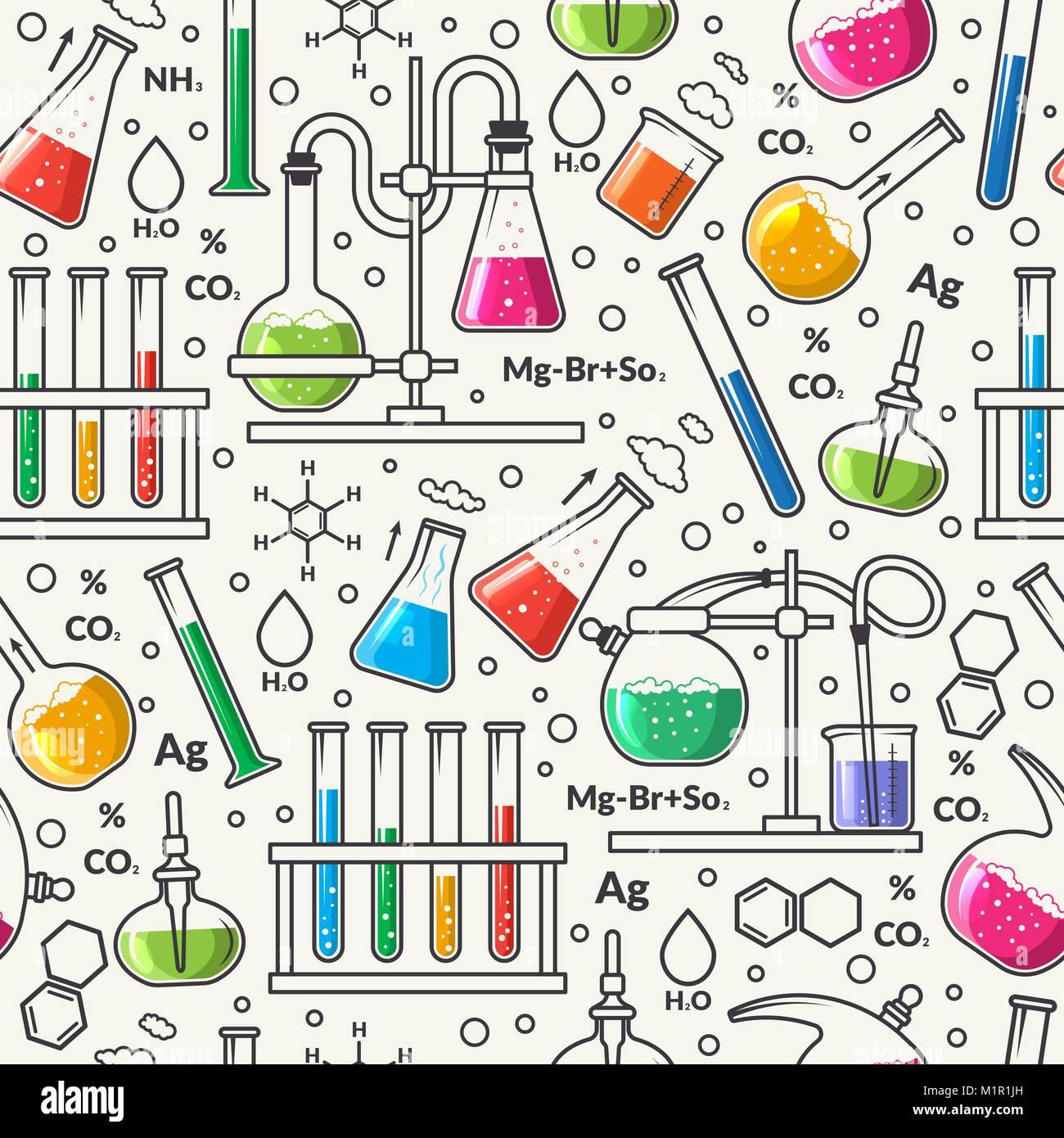Modèle logique des sciences Photo Stock