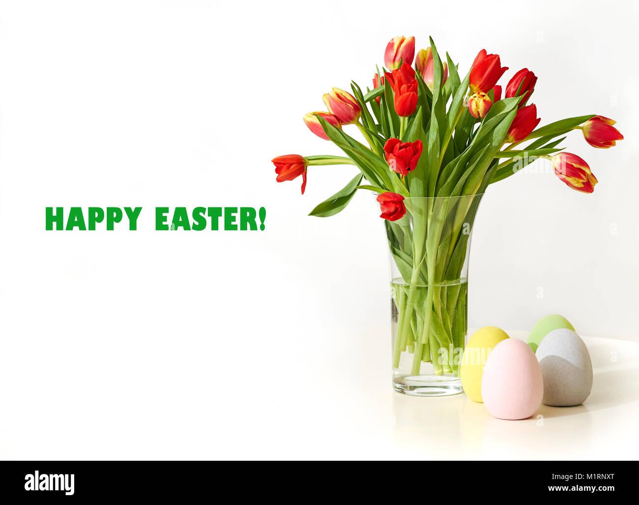 Carte postale pour Pâques Photo Stock