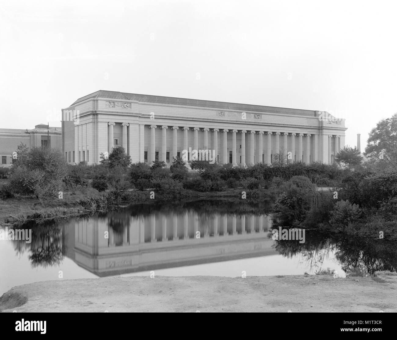 Museum of Fine Arts, Boston, Massachusetts, USA, Detroit Publishing Company, 1915 Photo Stock