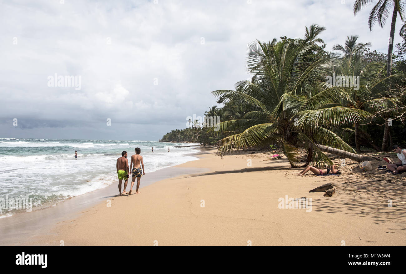 Caribbean Beach Puerto Viejo, Costa Rica Photo Stock