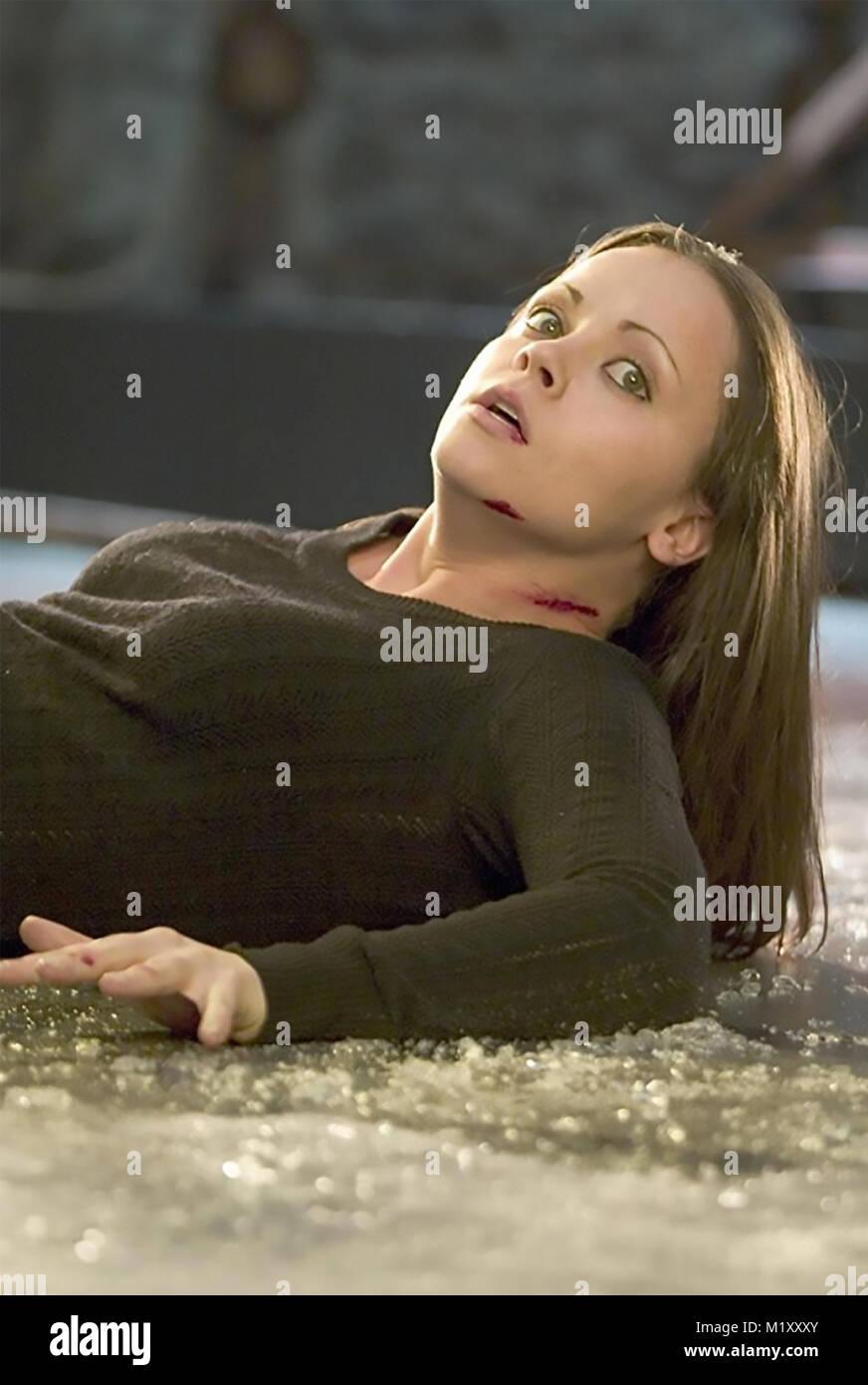 Maudit 2005 Dimension Films Production avec Christina Ricci Photo Stock