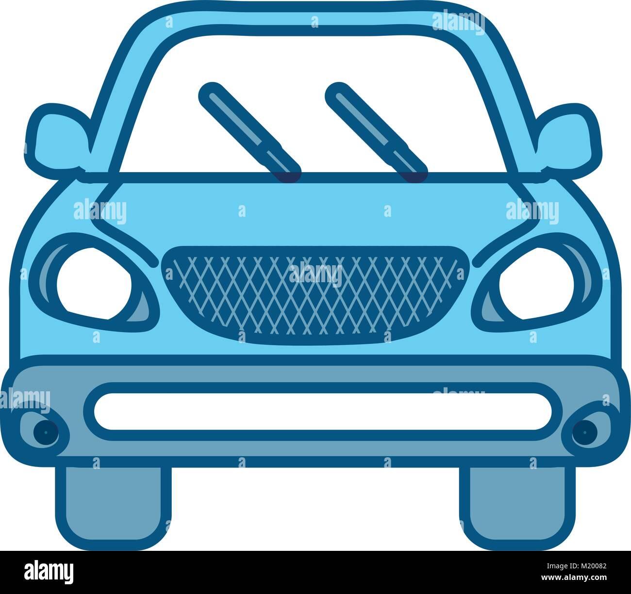 image d'icône de voiture Photo Stock