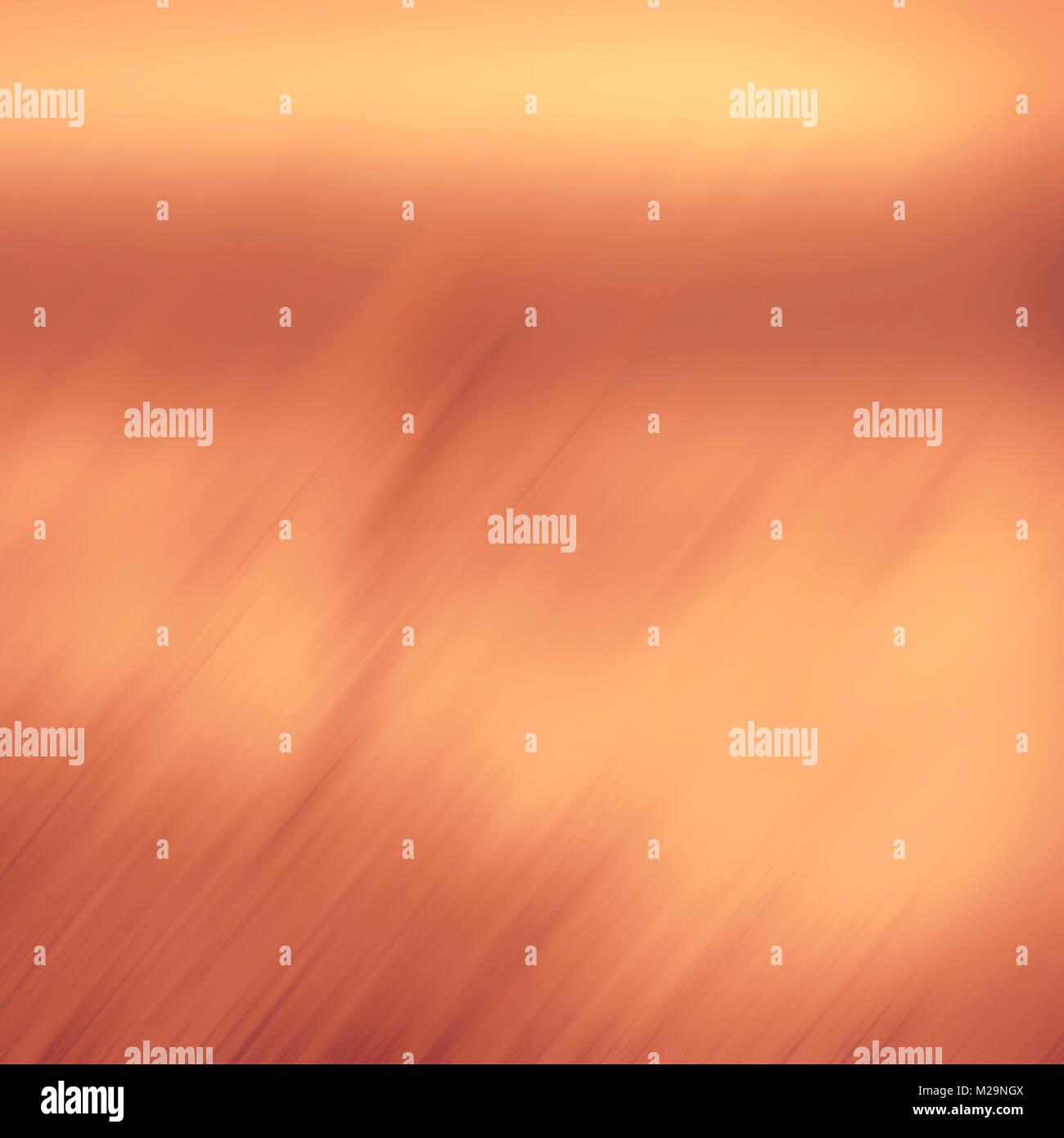 Résumé fond jaune trouble. Lignes de couleur orange en diagonale et ...