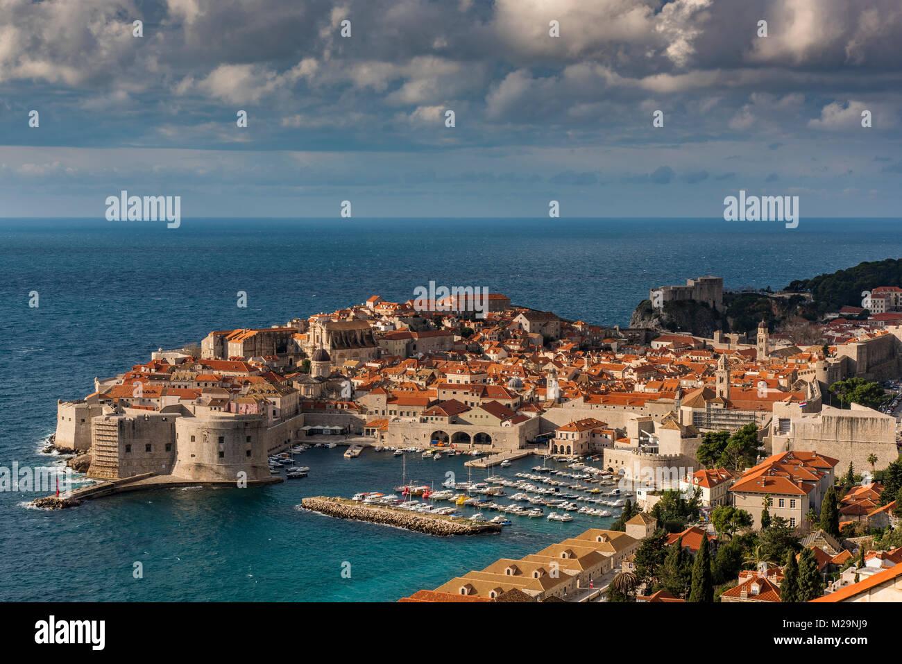 Dubrovnik, Croatie Banque D'Images