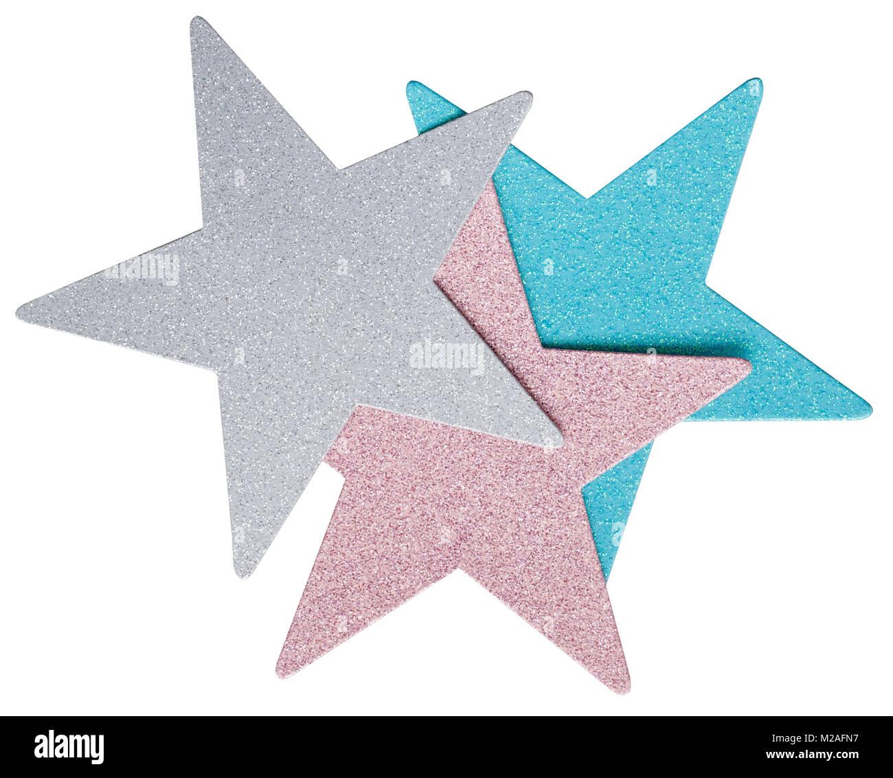 étoile à 5 branches Banque D'Images