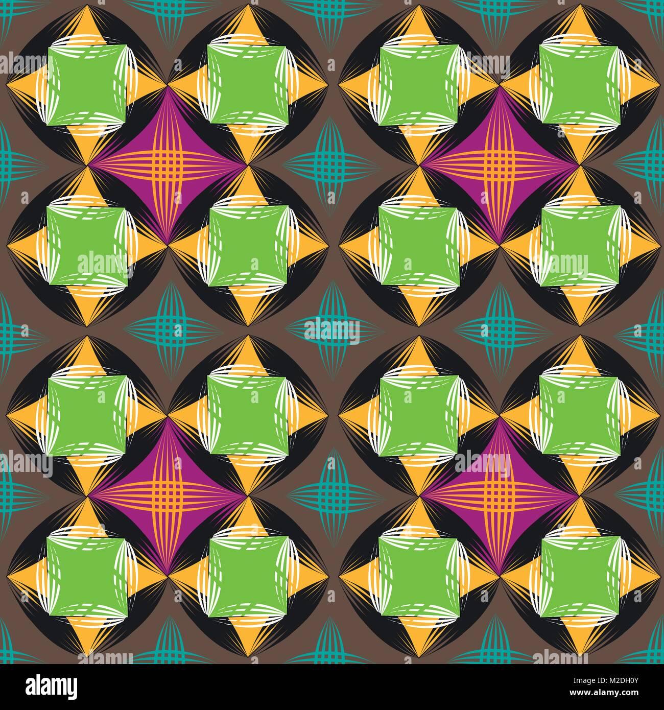 Seamless vector background rayures géométriques Illustration de Vecteur
