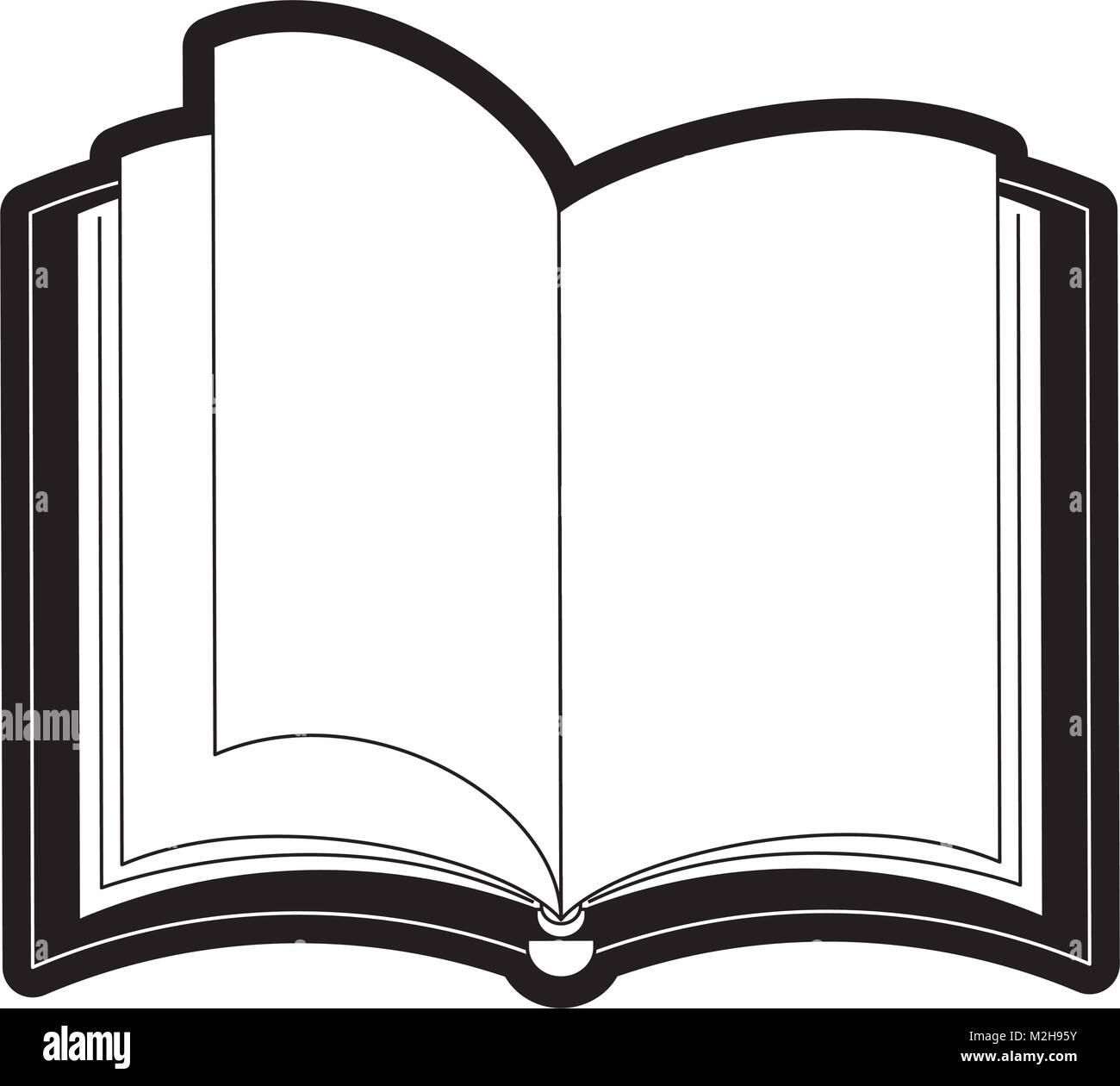 Icone Livre Ouvert Vecteurs Et Illustration Image