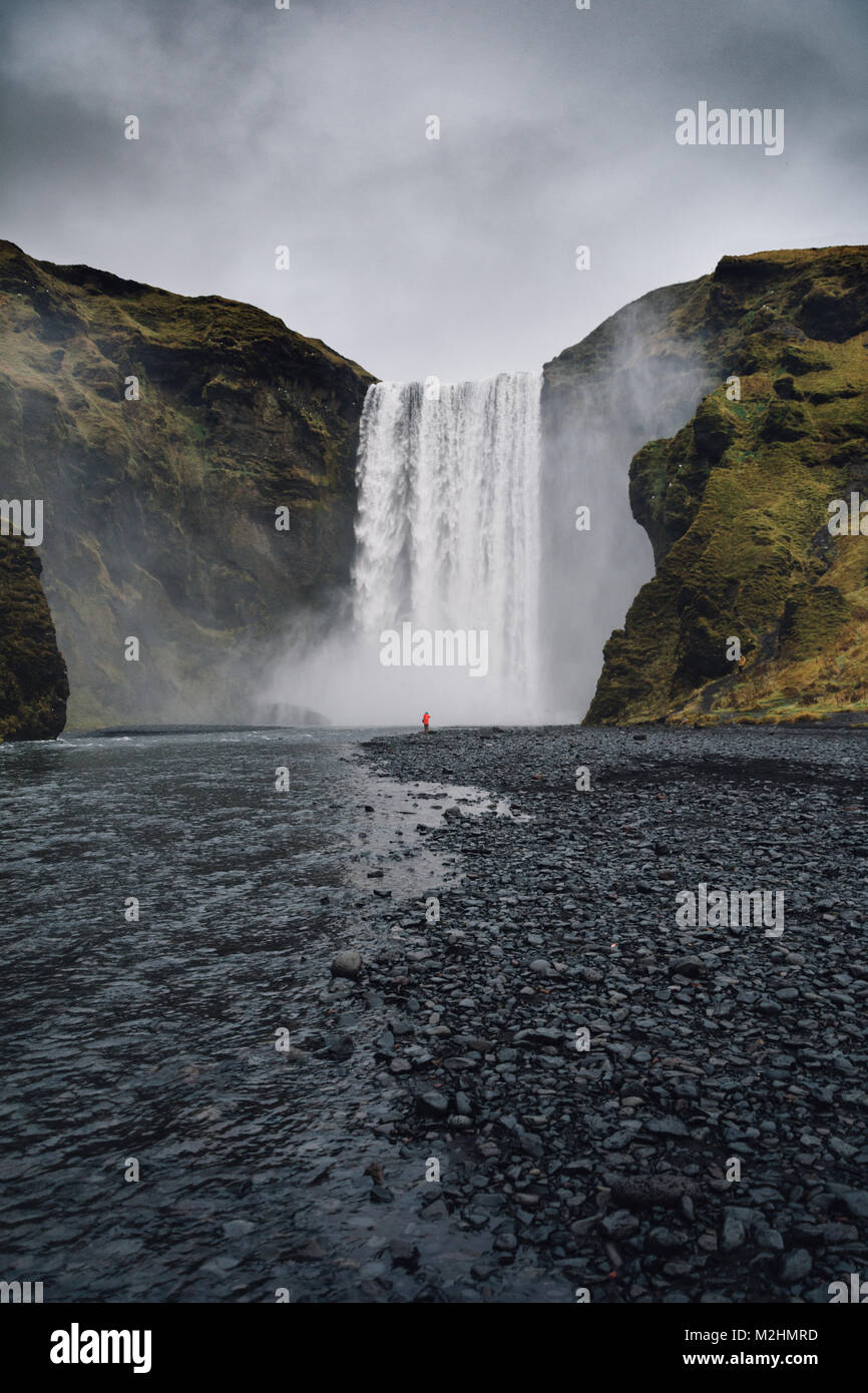 Skogafoss Photo Stock