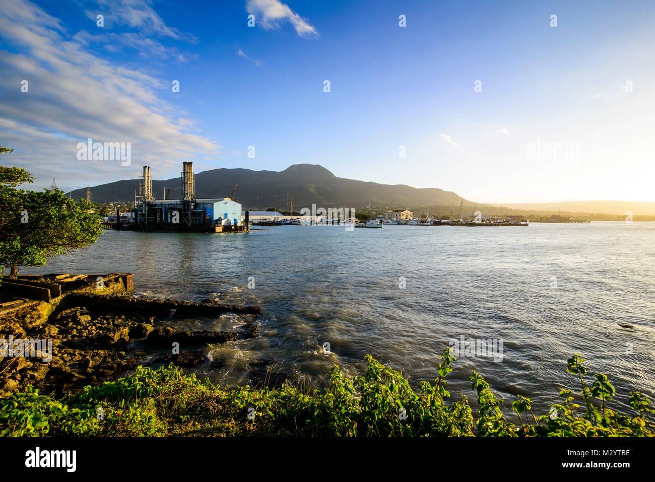 3417d45186ad Vue sur le port de Puerto Plata de la forteresse Fortaleza San Felipe