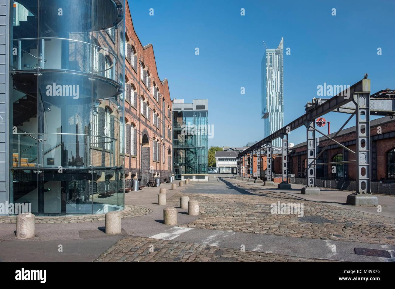 Musée des sciences et de l'industrie de Manchester, MOSI, Greater Manchester, Angleterre, RU Photo Stock