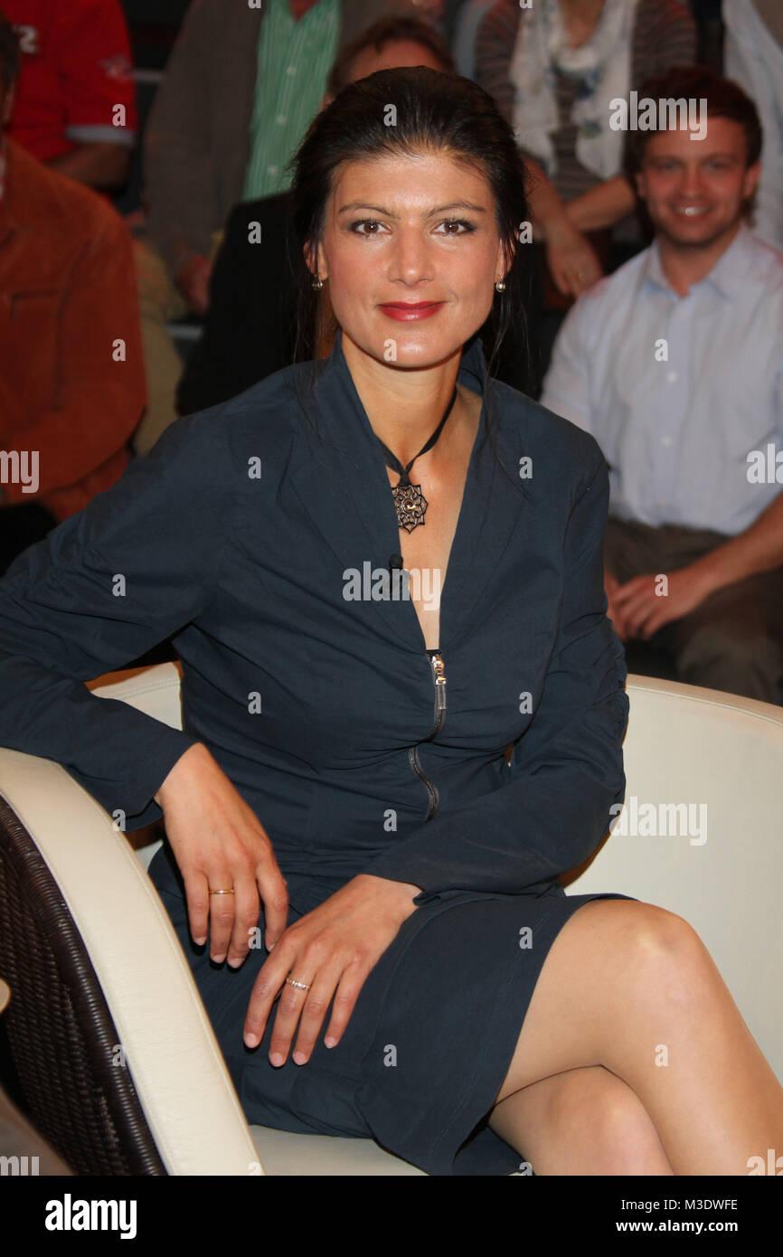 Sahra Wagenknecht Politikerin Lanz Aufzeichnung 2 Vom 02 05 2012 Hambourg Photo Stock Alamy