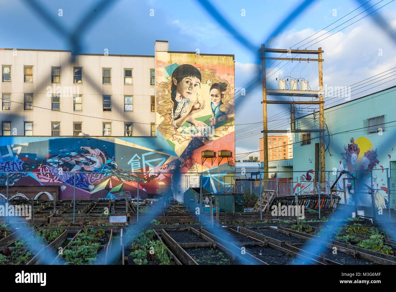 Les Jardins De L Ame Fresque Murale Dtes Centre Ville De