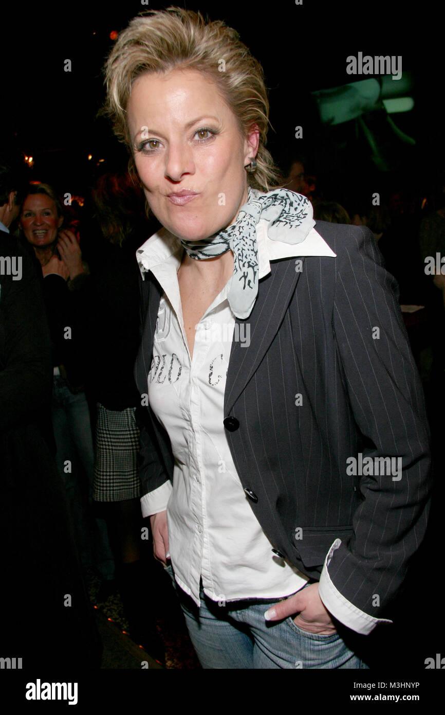 Tanja Schumann bei der venir parti ensemble 2007 der Filmförderung Hamburg , ein bedeutendes und unter der Prominenz beliebtes Medienevent am 18.01.2007 Banque D'Images