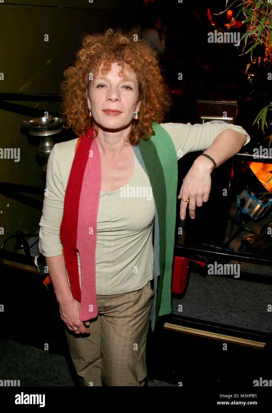 Nina Hoger bei der venir parti ensemble 2007 der Filmförderung Hamburg , ein bedeutendes und unter der Prominenz beliebtes Medienevent am 18.01.2007 Banque D'Images