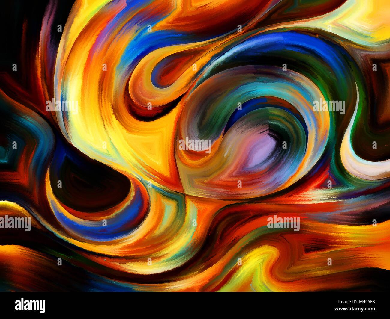 Forces Of Nature Série Contexte Artistique Faite De Formes