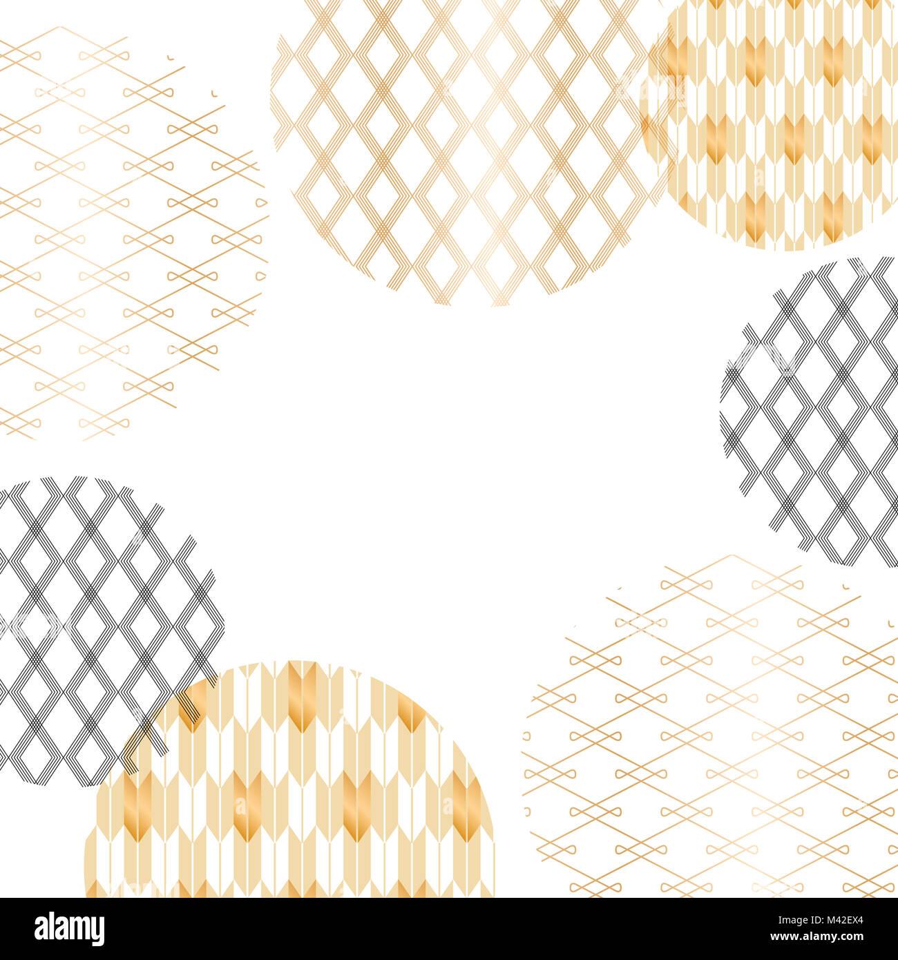 L Or Et Le Noir Motif Japonais Et Vecteur De Fond De Carte Affiche Et Conception De La Page De Garde Photo Stock Alamy
