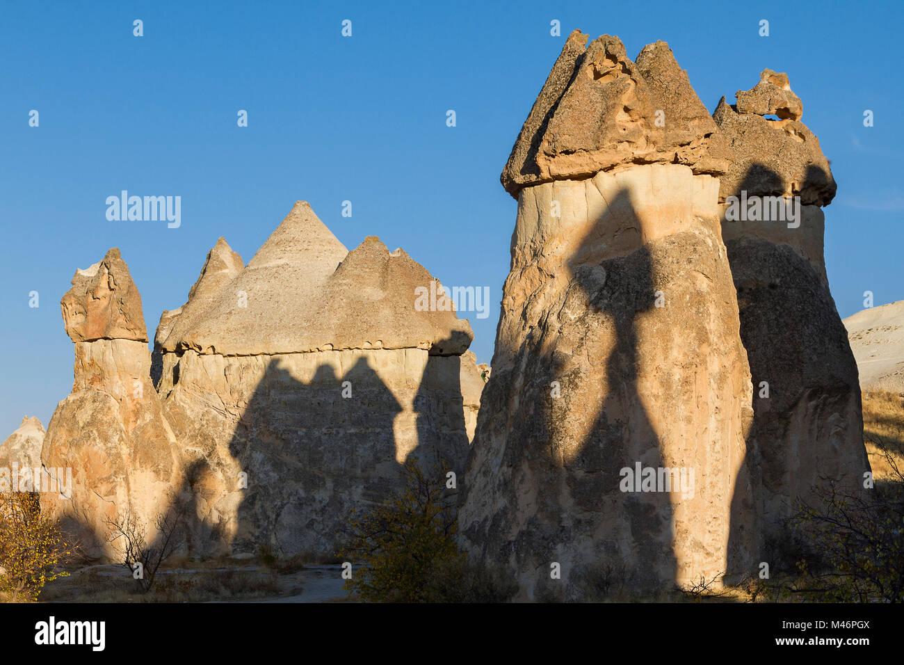 Cheminees De Fees En Cappadoce Turquie Banque D Images Photo Stock