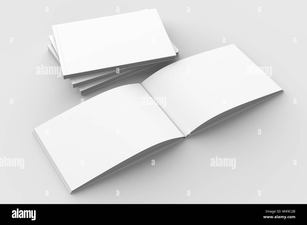 Paysage Brochure A Couverture Rigide Horizontal Livre Ou