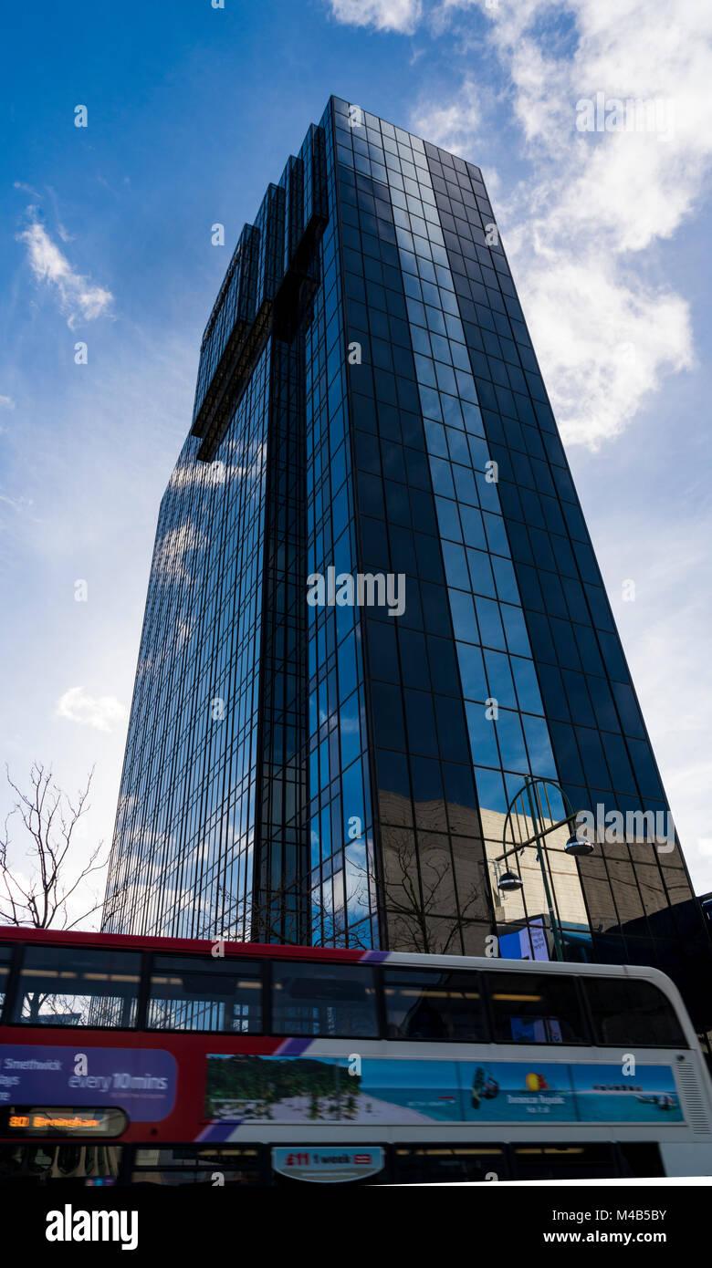 Des scènes de la ville de Birmingham, UK Photo Stock