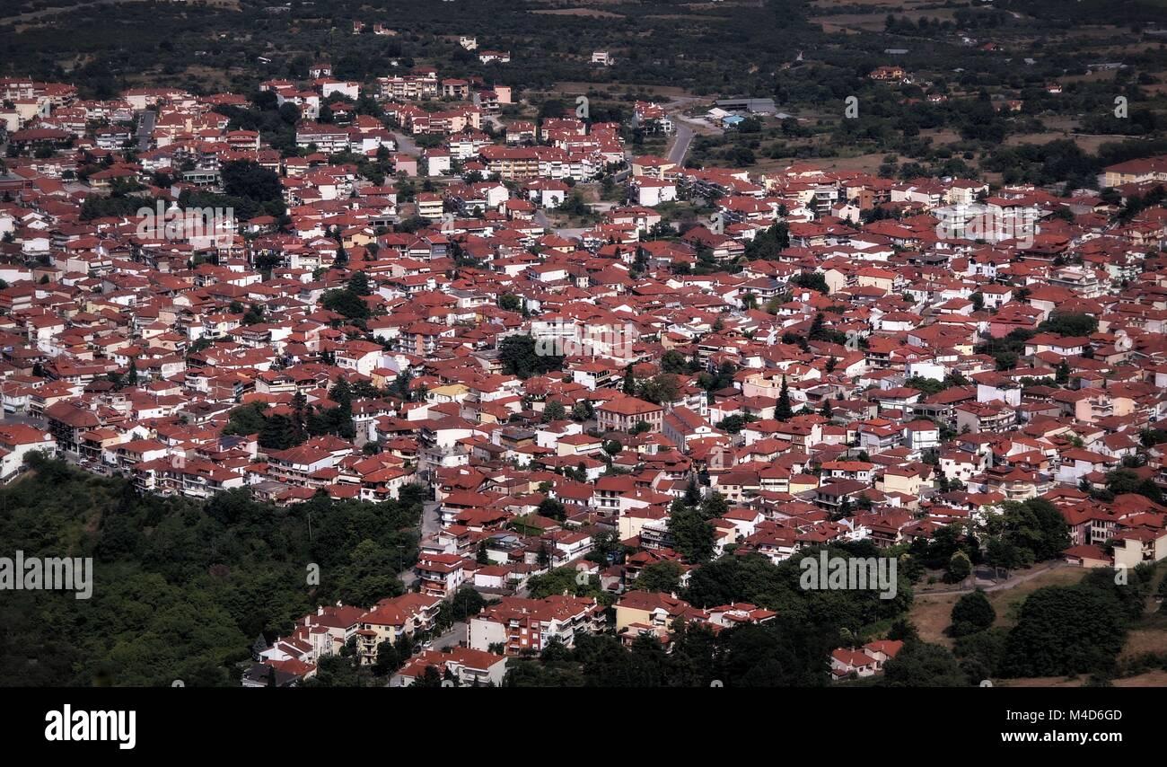 Portrait grec de la vie quotidienne à Thessalonique Photo Stock