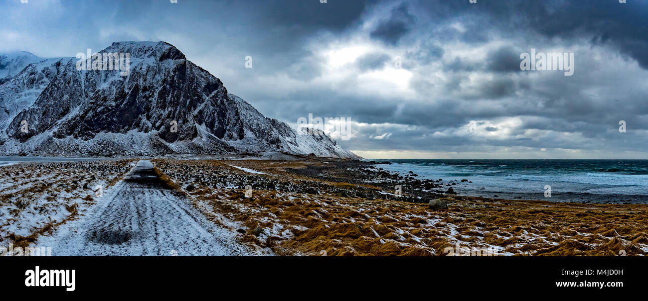 Îles Lofoten Photo Stock