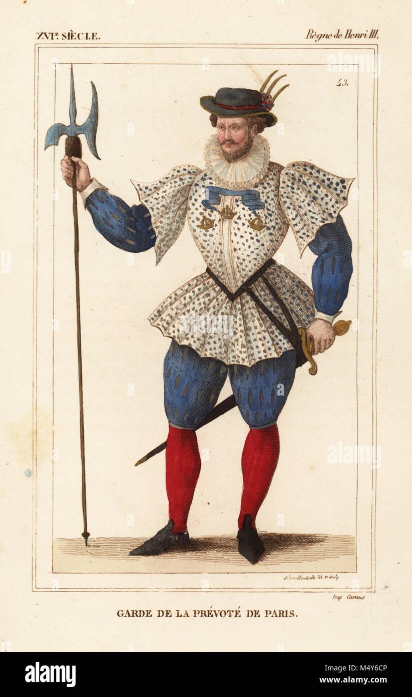 Garde de la Prévôté de Paris (gardien de l\u0027Provosty de Paris),