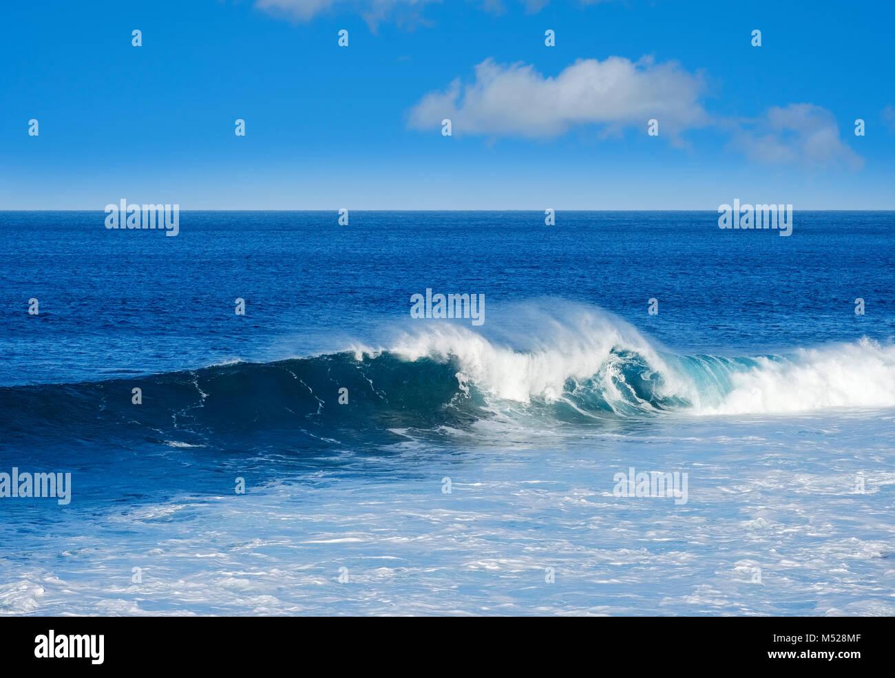 Déferlante,Océan Atlantique,DE,La Gomera Canaries, Canaries, Espagne Photo Stock