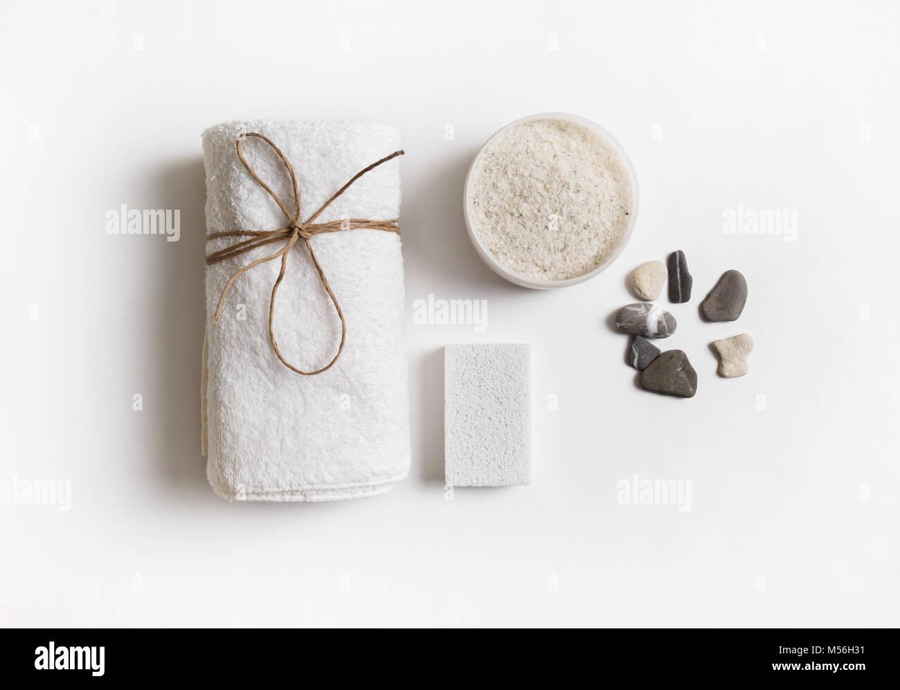 Concept spa et beauté Photo Stock