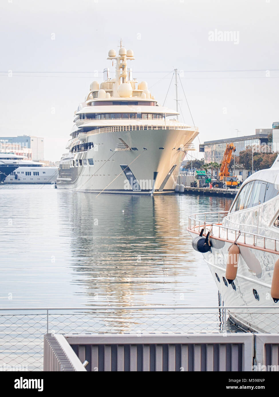 Dilbar Luxury Yacht Photos Dilbar Luxury Yacht Images Alamy