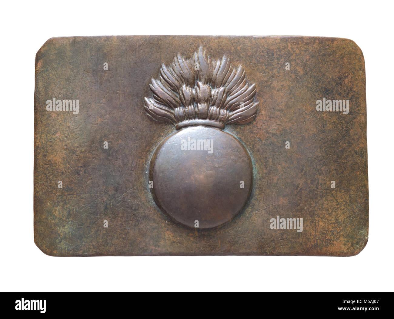 7236b02e984d Vintage de ceinture. L armée impériale russe Banque D Images, Photo ...
