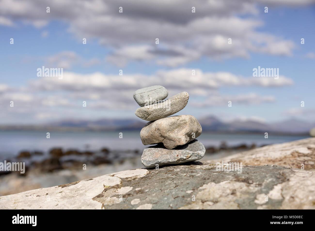 pebble sculpture photos pebble sculpture images alamy. Black Bedroom Furniture Sets. Home Design Ideas
