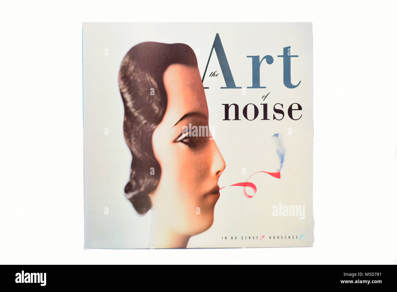 L'art de bruit dans aucun sens absurde LP pochette vinyle musique Photo Stock