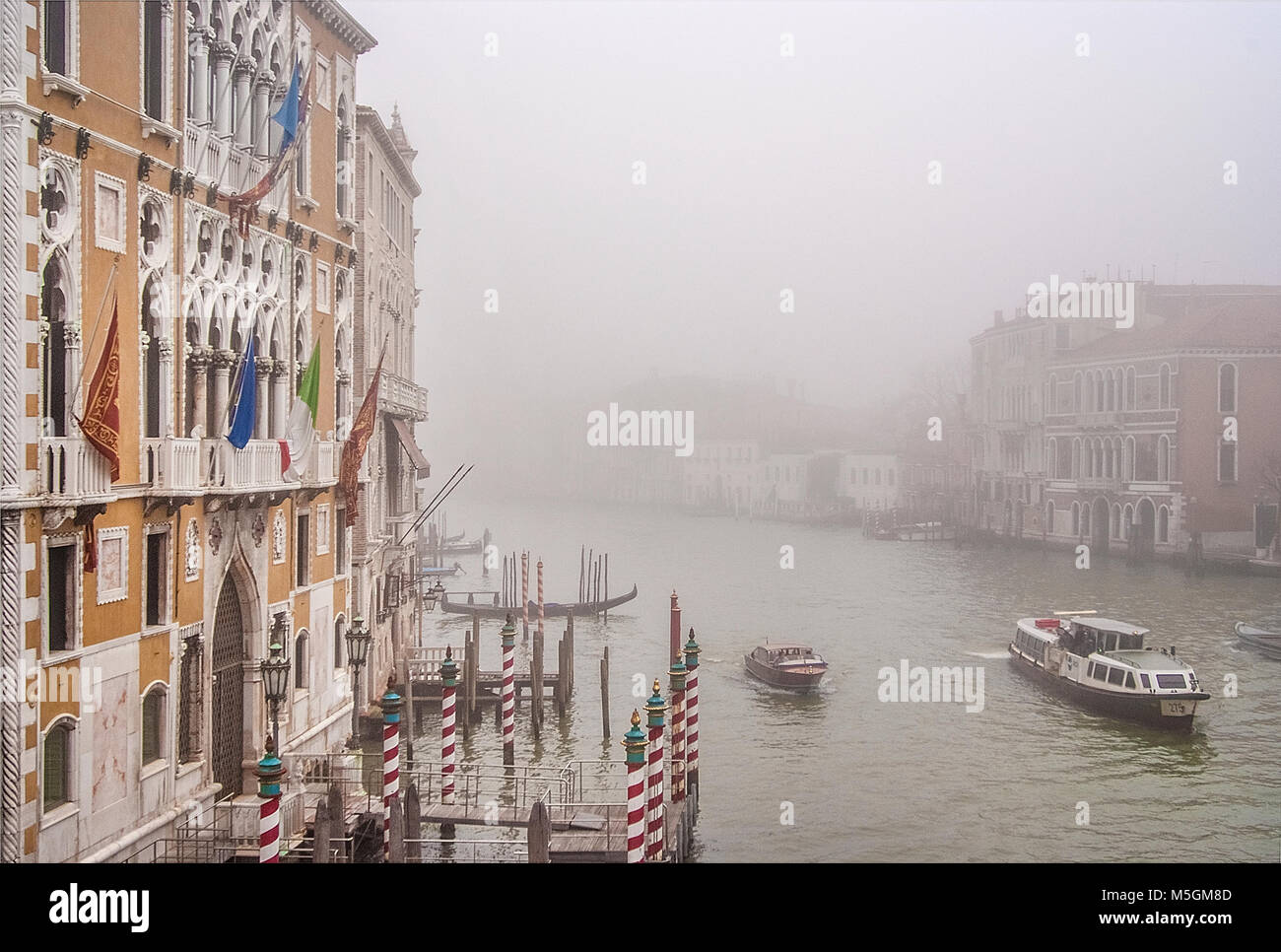 Venise, vue sur le Grand Canal Photo Stock