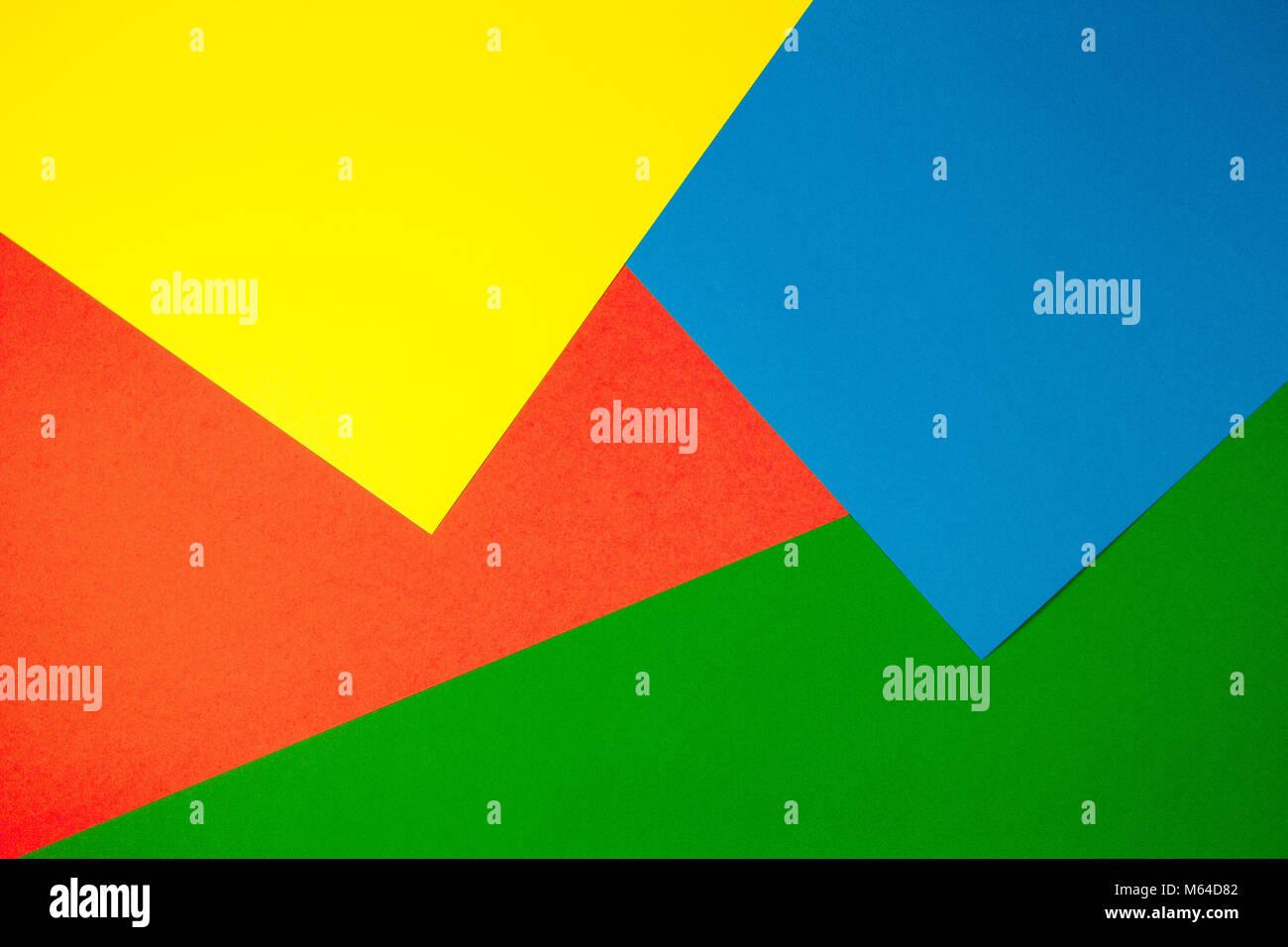 Couleur Avec Du Rouge documents couleur avec fond plat géométrie composition jaune