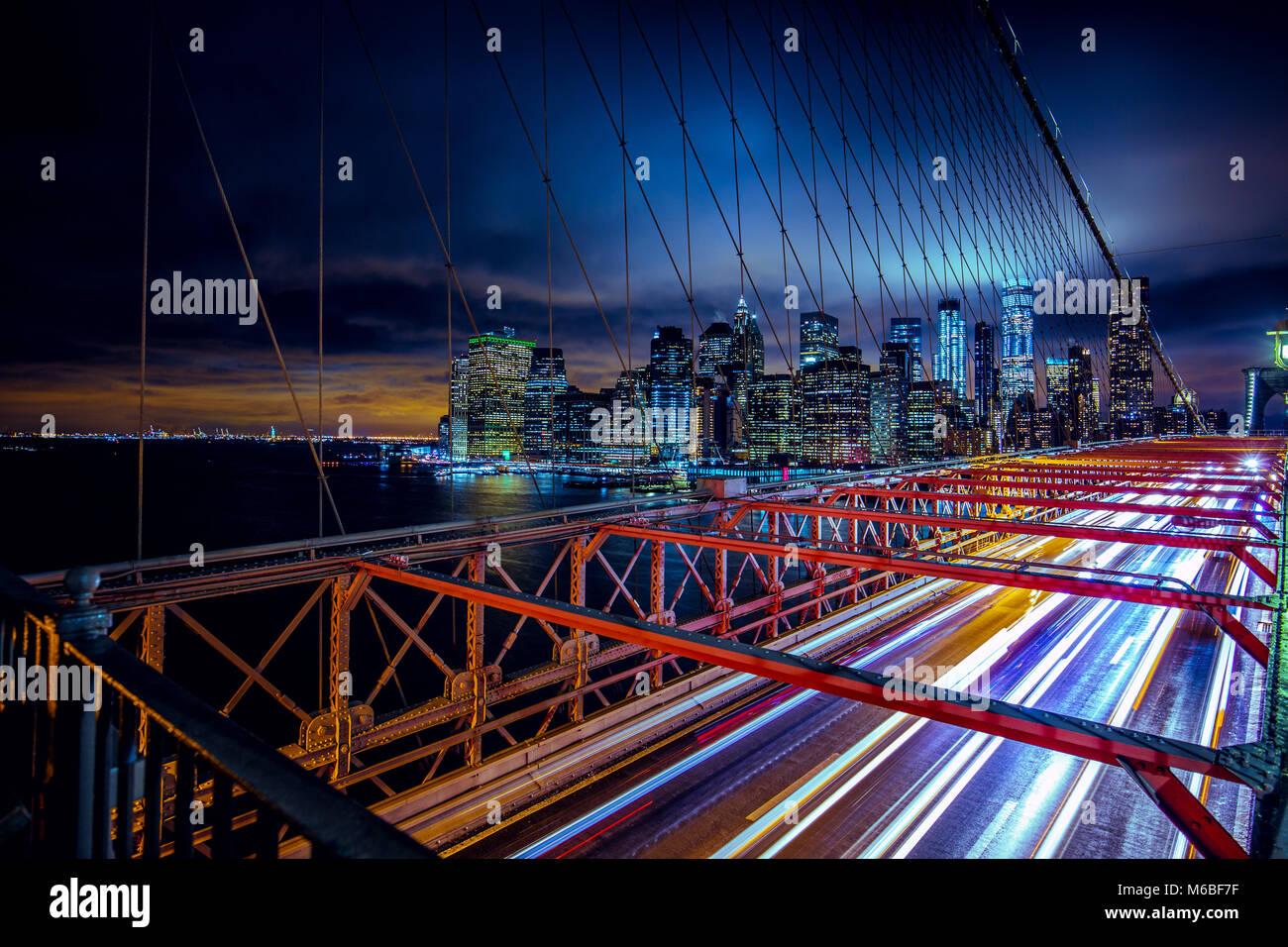 Pont de Brooklyn Photo Stock