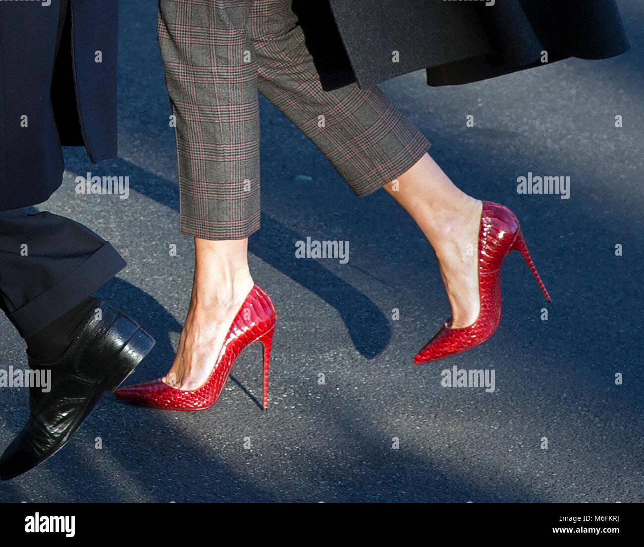 Par De Melania Première Dame Close Trump Up Chaussures La Portées sQBrhCtdx