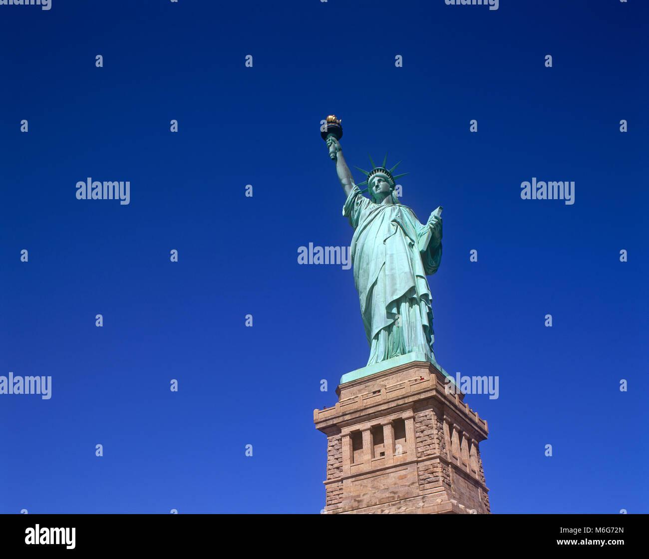 Statue de la liberté, Liberty Island, New York, USA Photo Stock