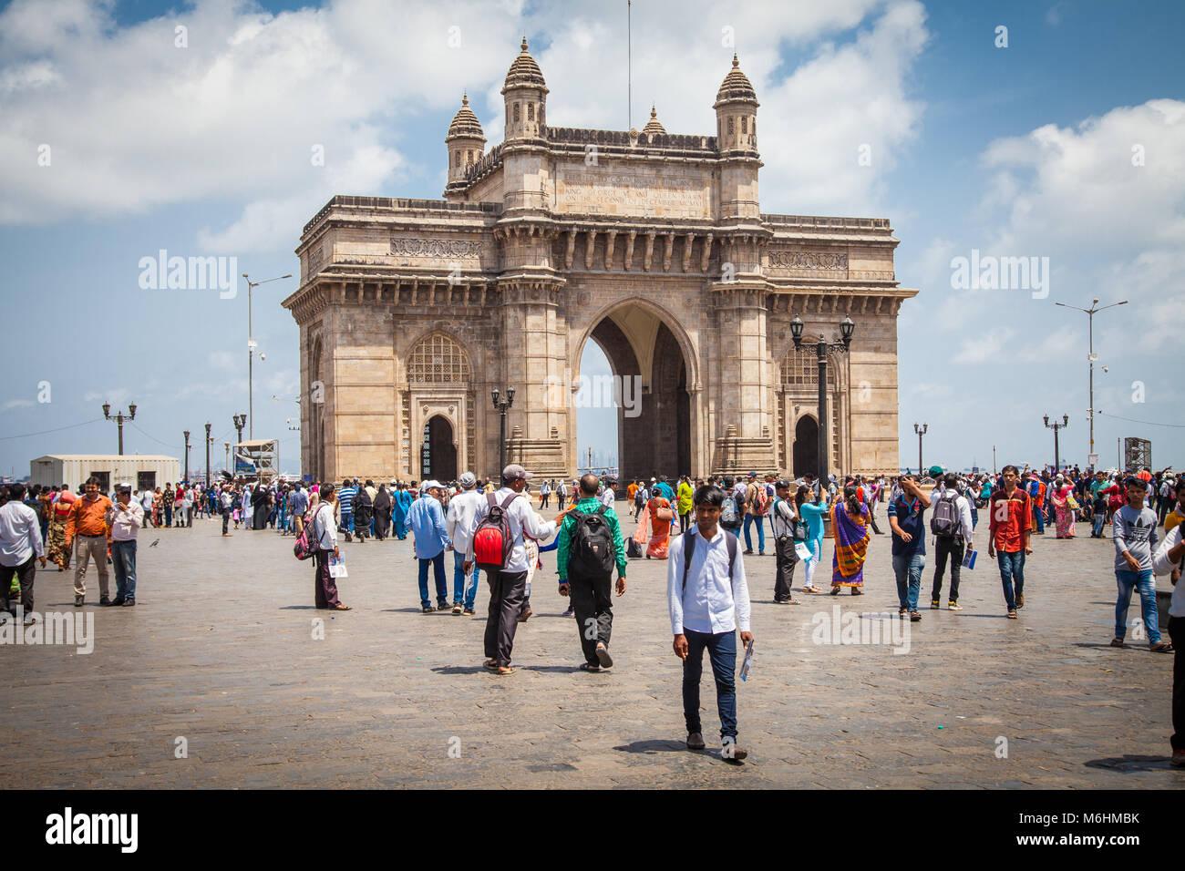 Gateway of India, Mumbai, Inde Photo Stock