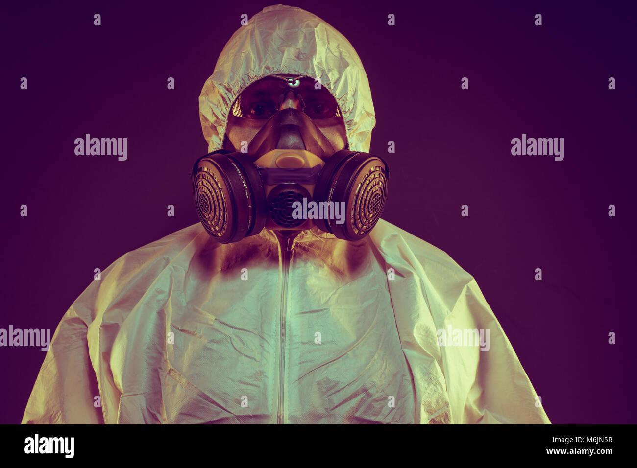 masque biologique virus