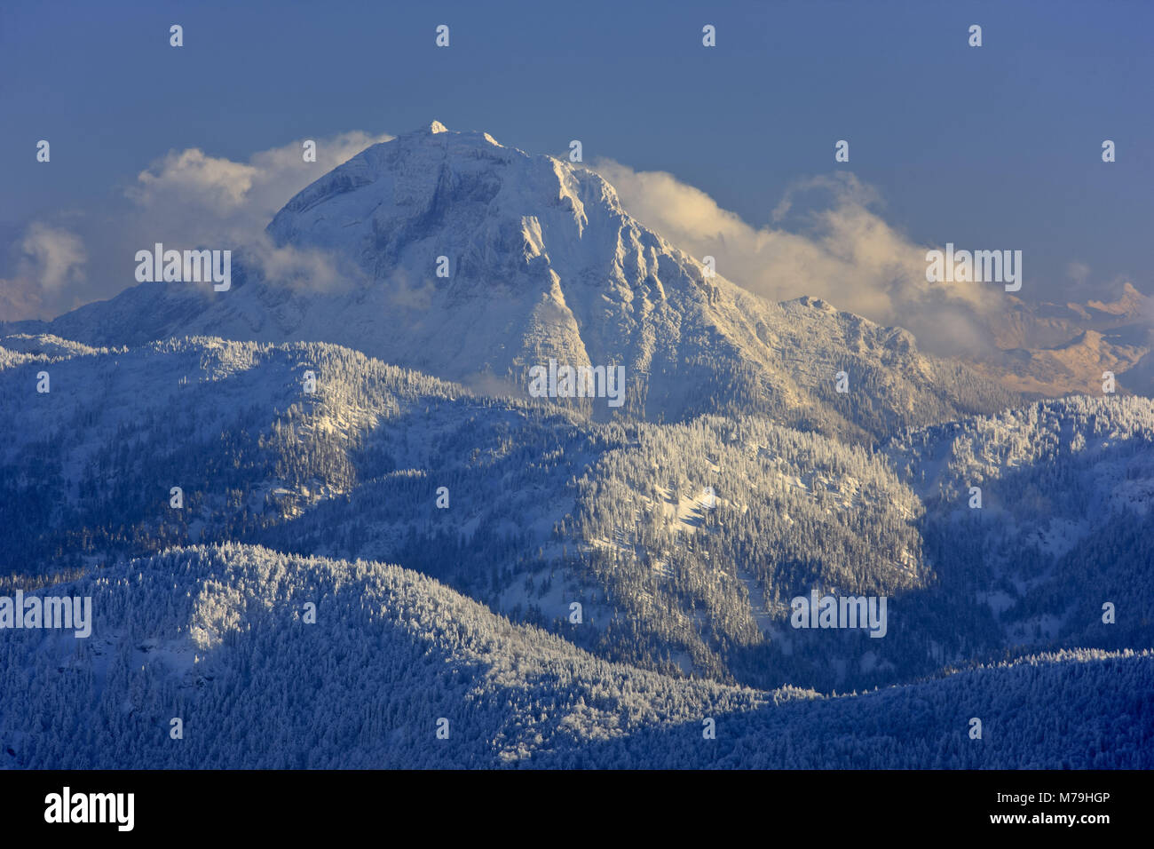 Allemagne, Berlin, Isarwinkel, Alpes bavaroises, Brauneck, Guffert, Autriche, Tyrol, Banque D'Images