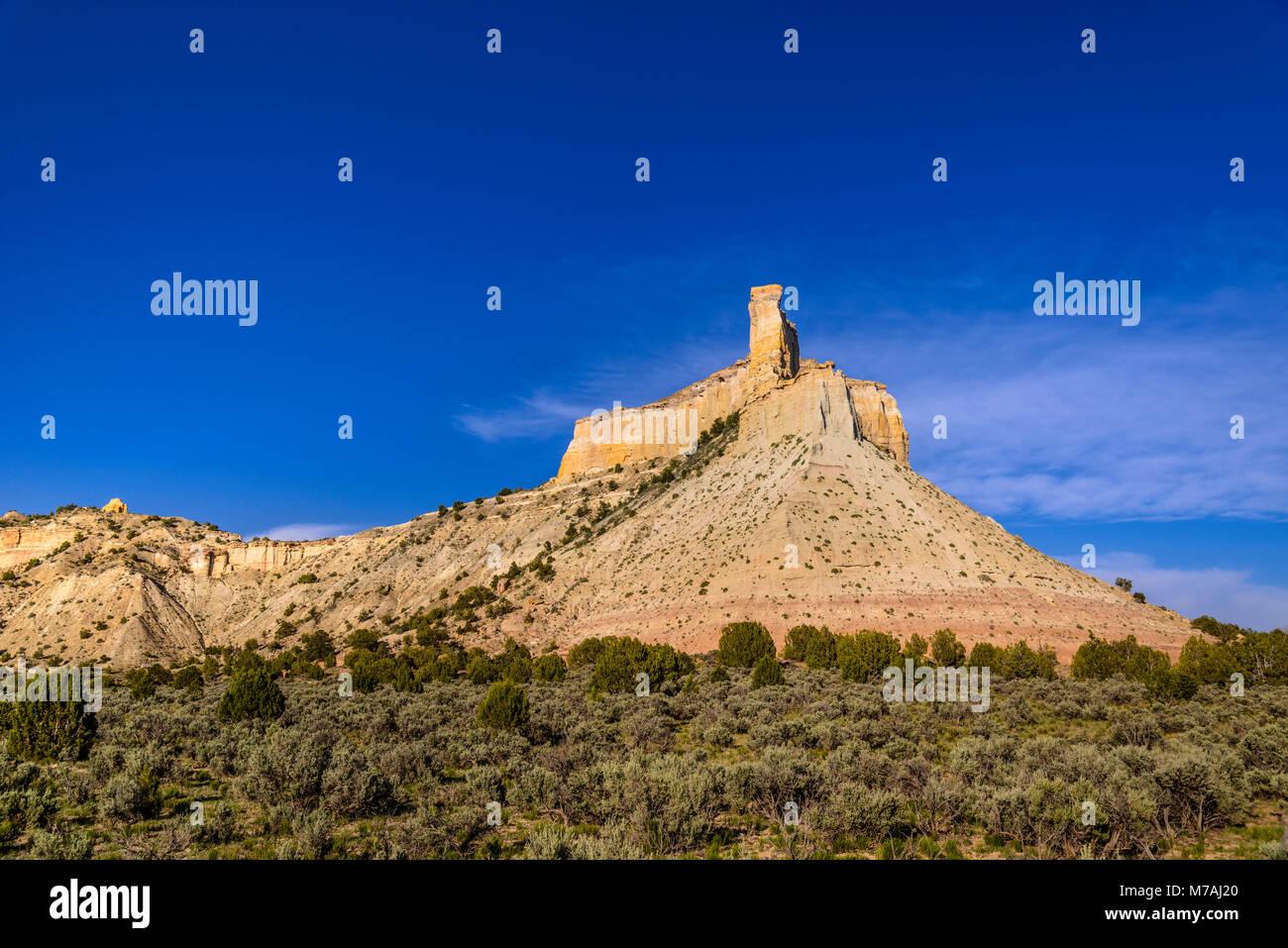 Les USA, Utah, Garfield Comté, Bryce Valley, Henrieville, promesse rock Banque D'Images