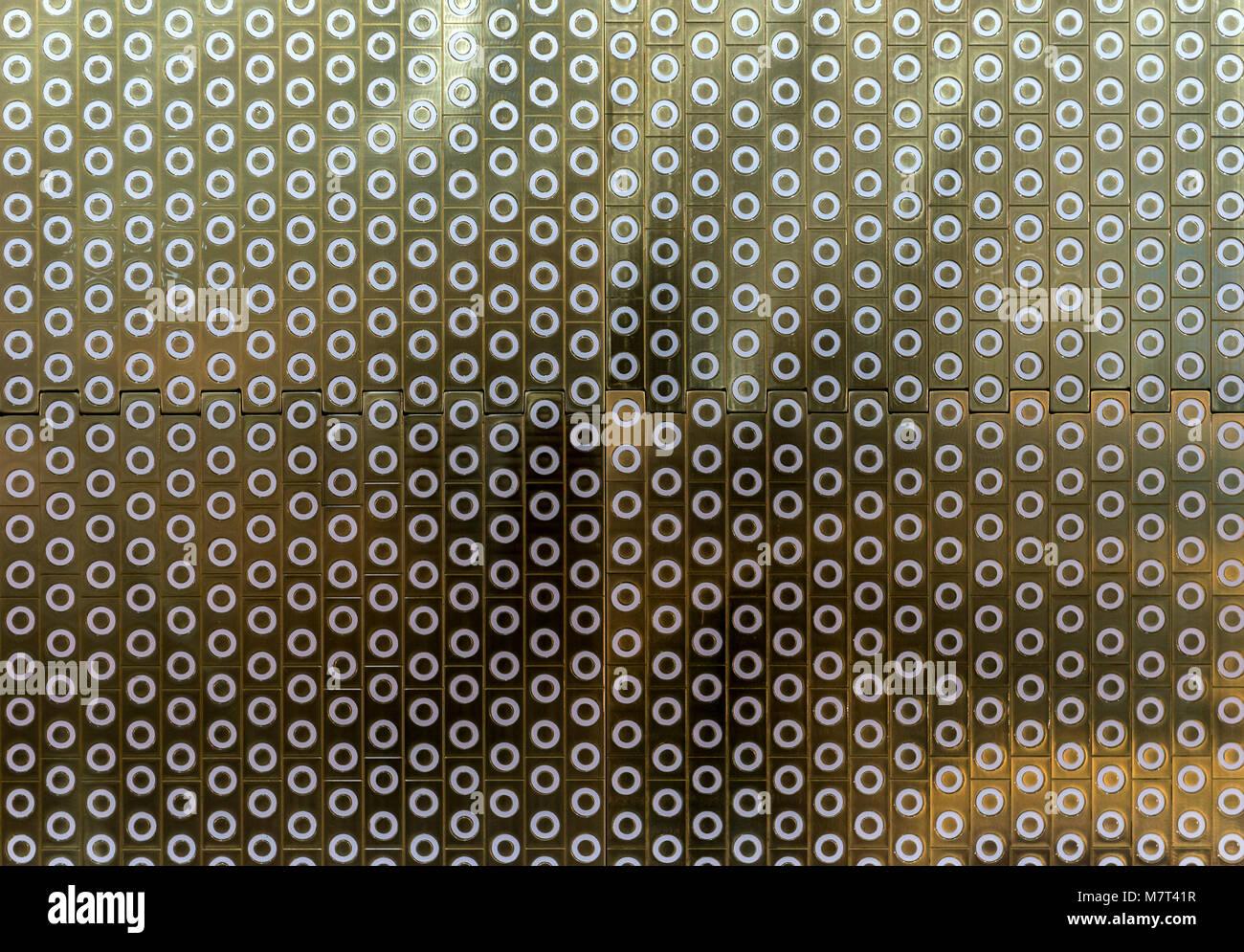 Balayées par active à la avant de la matrice x-range Photo Stock